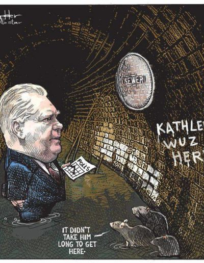 De Adder cartoon